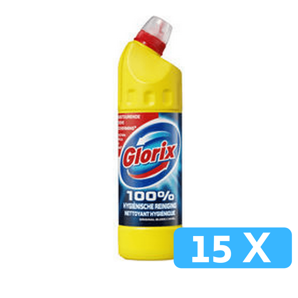 Glorix bleek original 15 x 750 ml