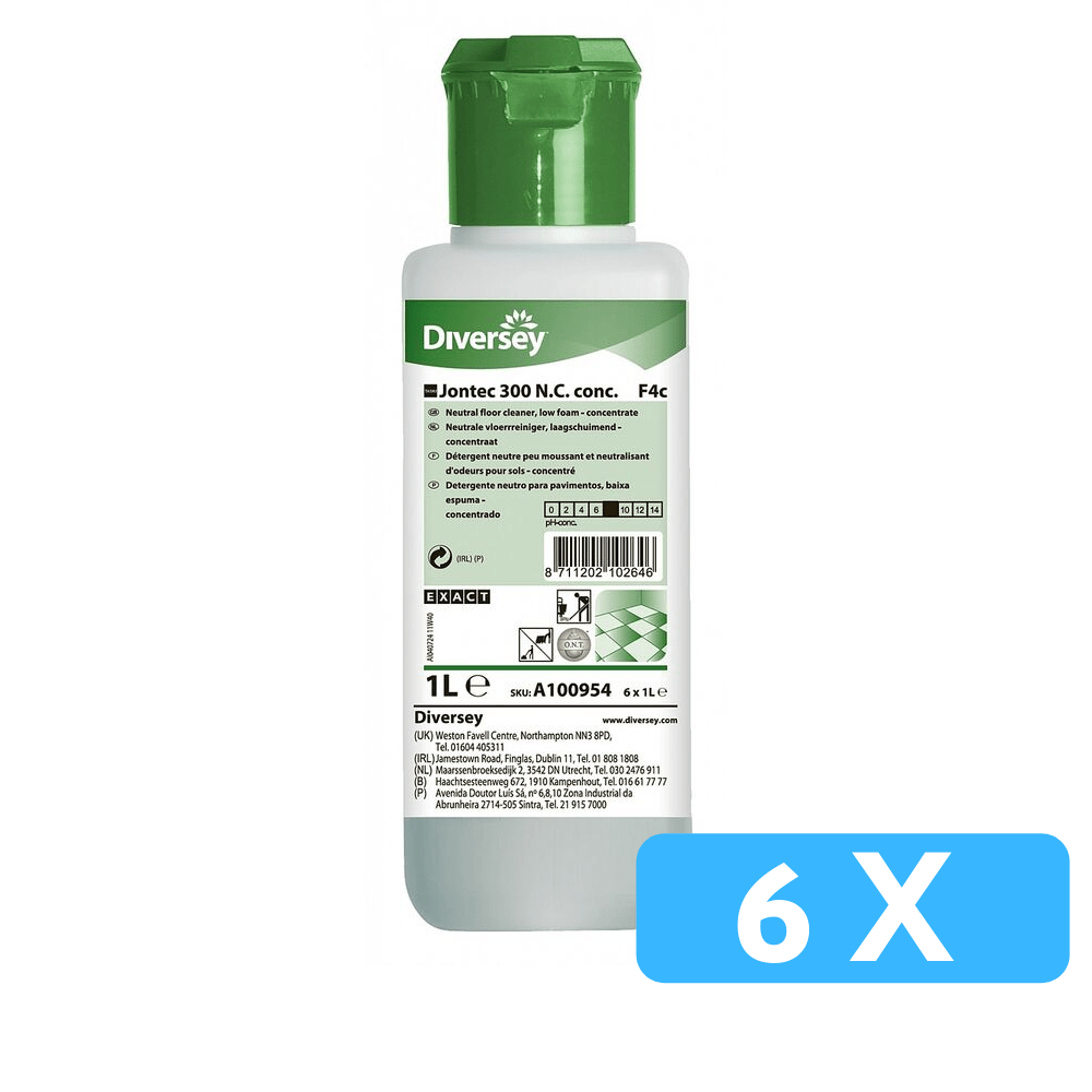 Taski Jontec 300 N.C. conc. - EXACT navulflacon 6 x 1 liter