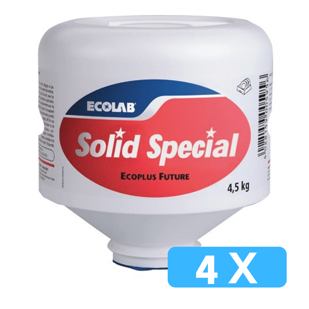 Ecolab | Solid Special | 4 x 4,5 kg