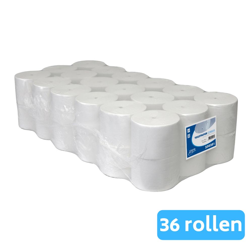 Toiletpapier 1-laags Coreless compact 36 x 1400 vel