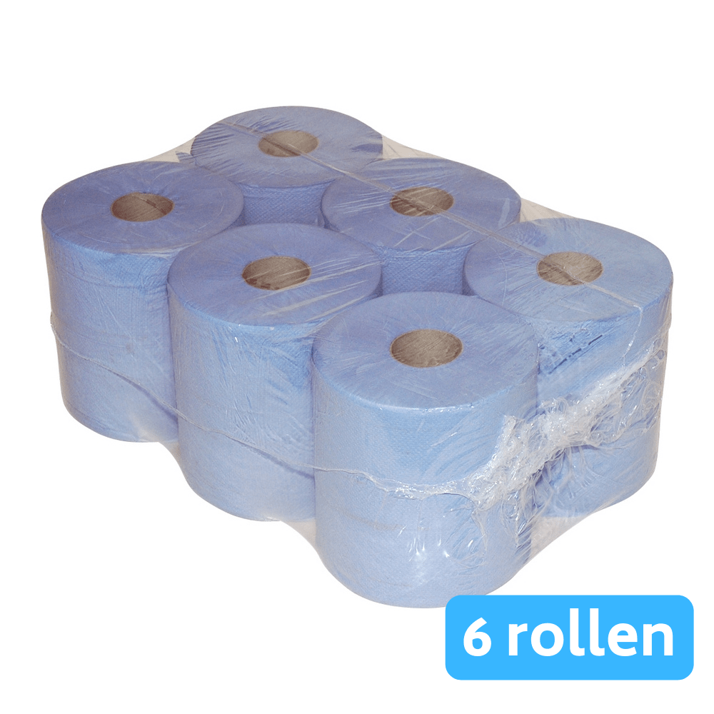 Euro Products | Midirol 1-laags | 20cm | Blauw | 6 x 300 meter