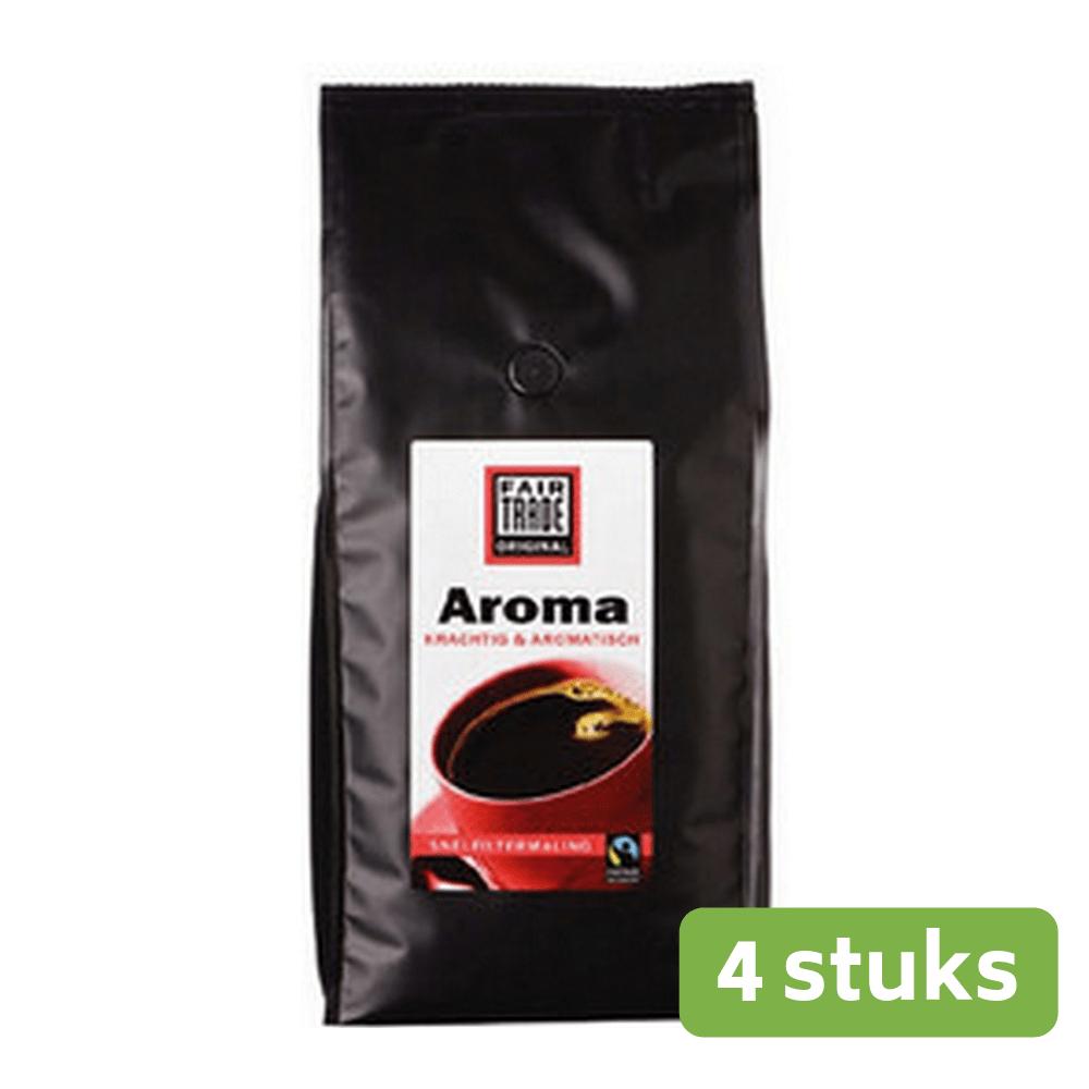 Fairtrade Original Aroma snelfilter 1 kg. 4 stuks