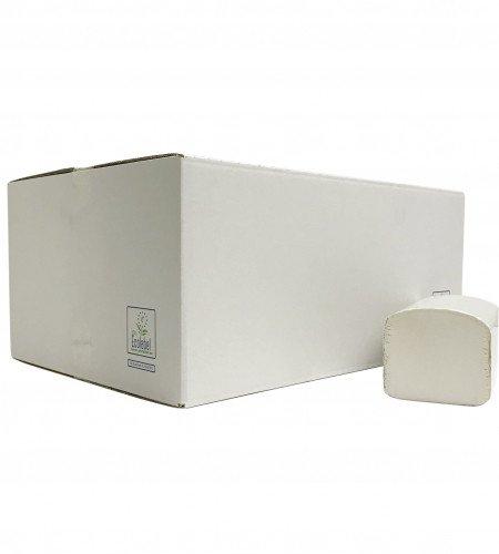 Euro Products | Z-vouwhanddoekjes | Cellulose 2-laags | 24 x 21 cm | 3200 stuks