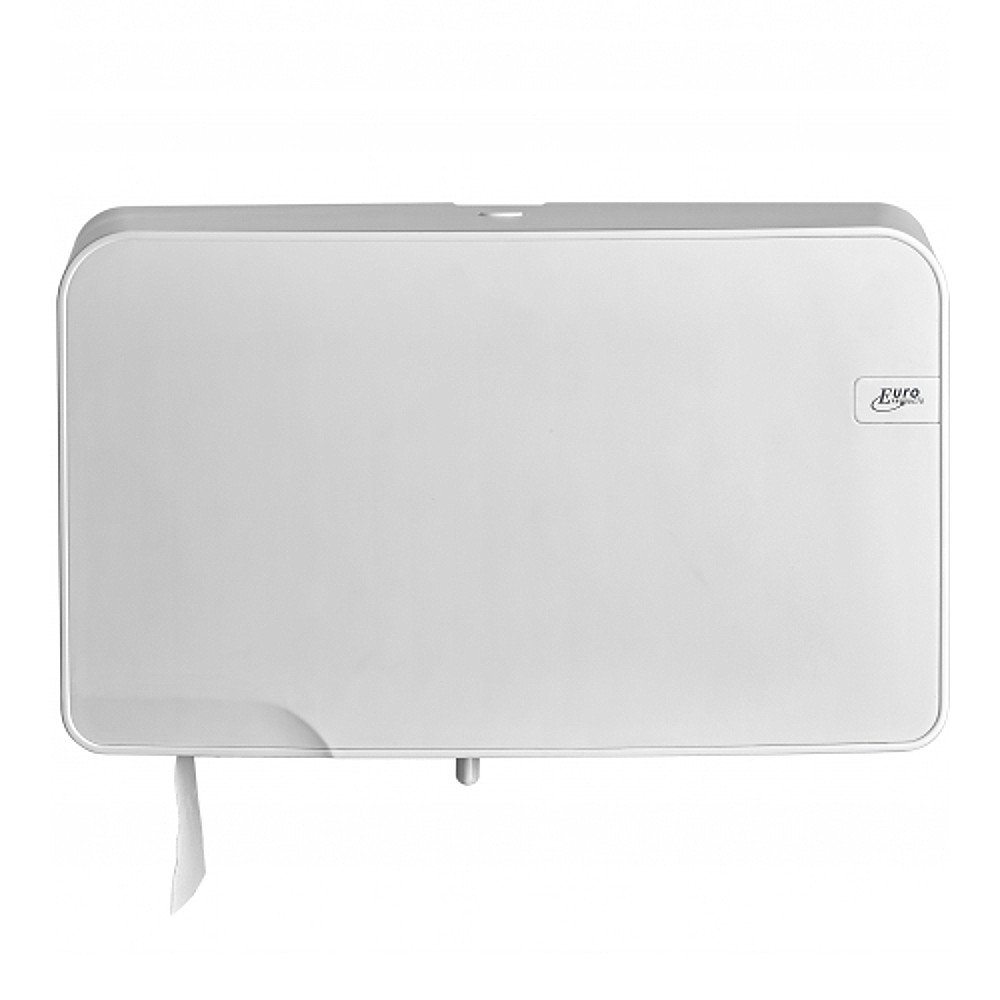 Euro Products | Toiletrolhouder | Quartz Mini Jumbo Duo | Wit