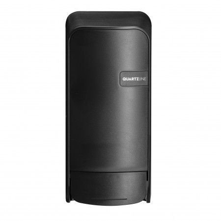 Euro Products | Quartz | Zeepdispenser met navulbare flacon | Zwart
