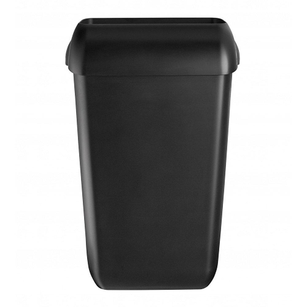 Euro Products | Quartz | Afvalbak | Zwart | Inhoud: 23 liter