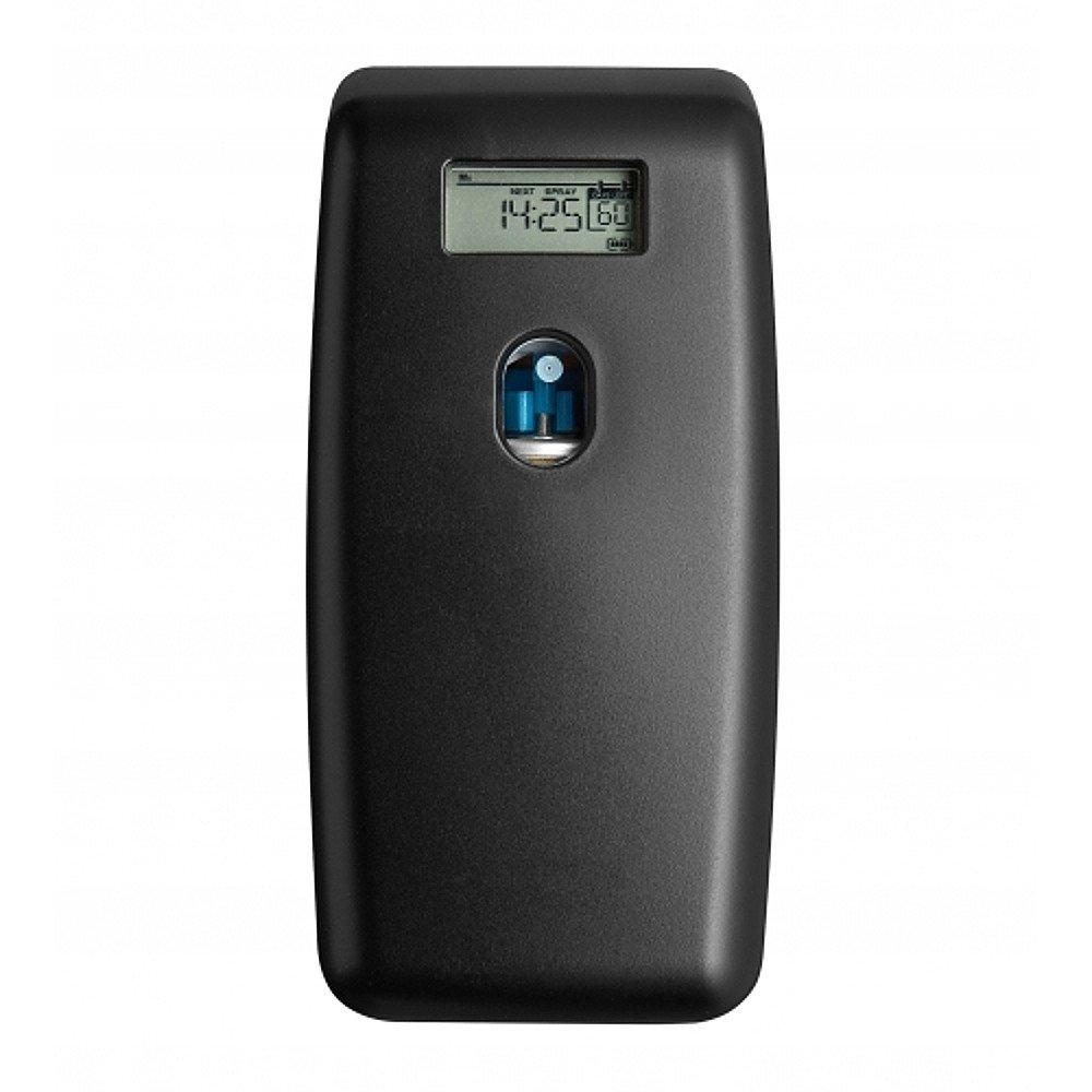 Euro Products Quartz Luchtverfrisser Digitaal Zwart + Aerosol luchtverfrisser-navullingen 12 x 100 ml