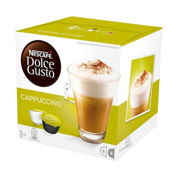 Dolce Gusto   Nescafé cappuccino   3 x 16 Cups