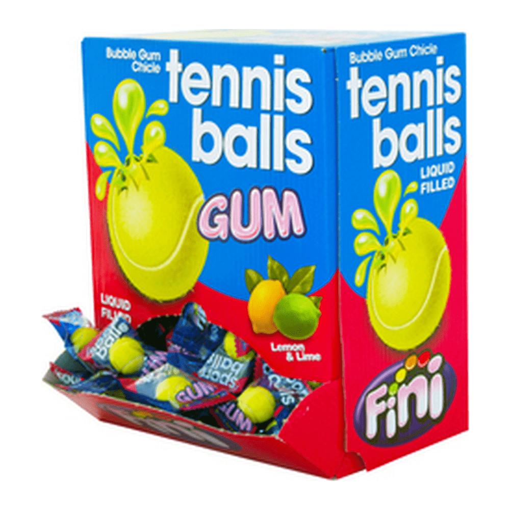 Fini   Tennis Balls Gum   200 stuks