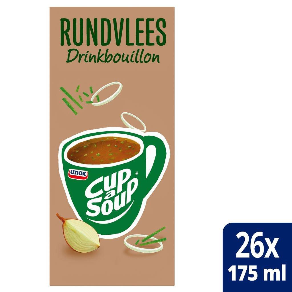 Cup-a-Soup   Runderbouillion bieslook   26 x 175 ml