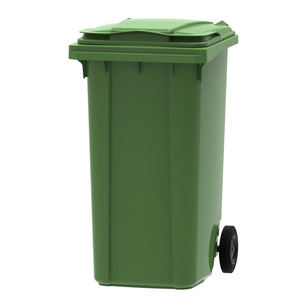 Mini rolcontainer 240 liter groen