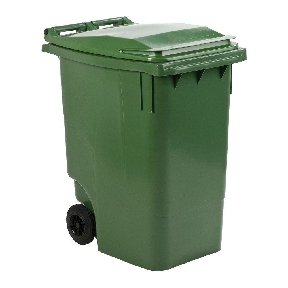 Mini rolcontainer 360 liter groen
