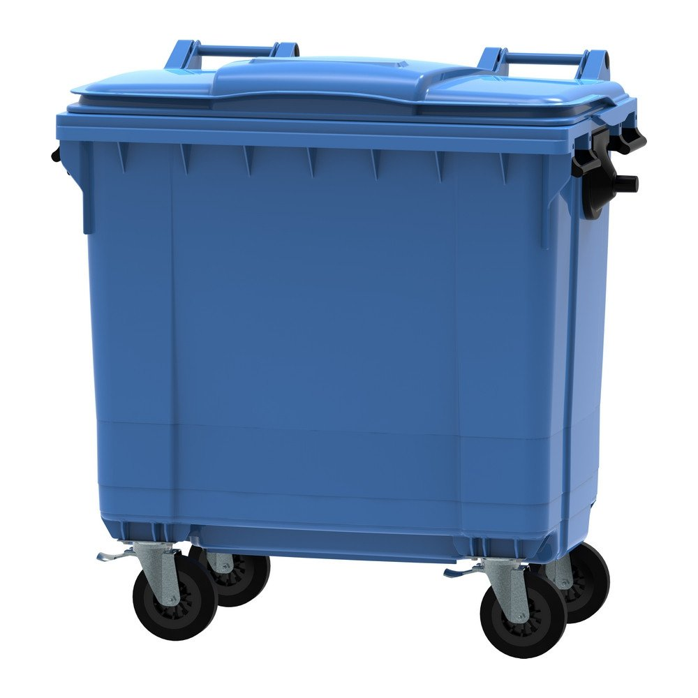 Kunststof container | Blauw | Inhoud: 770 liter