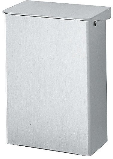 Ingo- man | Afvalbak | Wandmontage | Aluminium | Inhoud: 15 liter