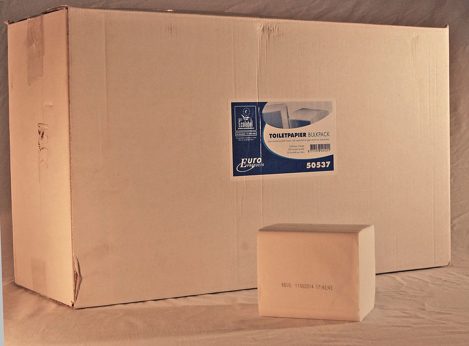 Euro Products | Toiletpapier 2-laags wit | Bulkpack | 36 x 250 vel