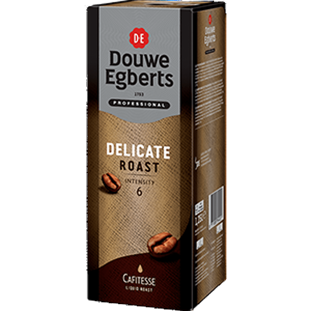 Douwe Egberts | Cafitesse Delicate Roast | 1 x 1,25 liter