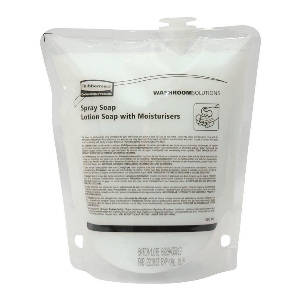 Euro Products | Spraysoap handlotion | Type: 68058 Lotus | Flacon 12 x 400 ml