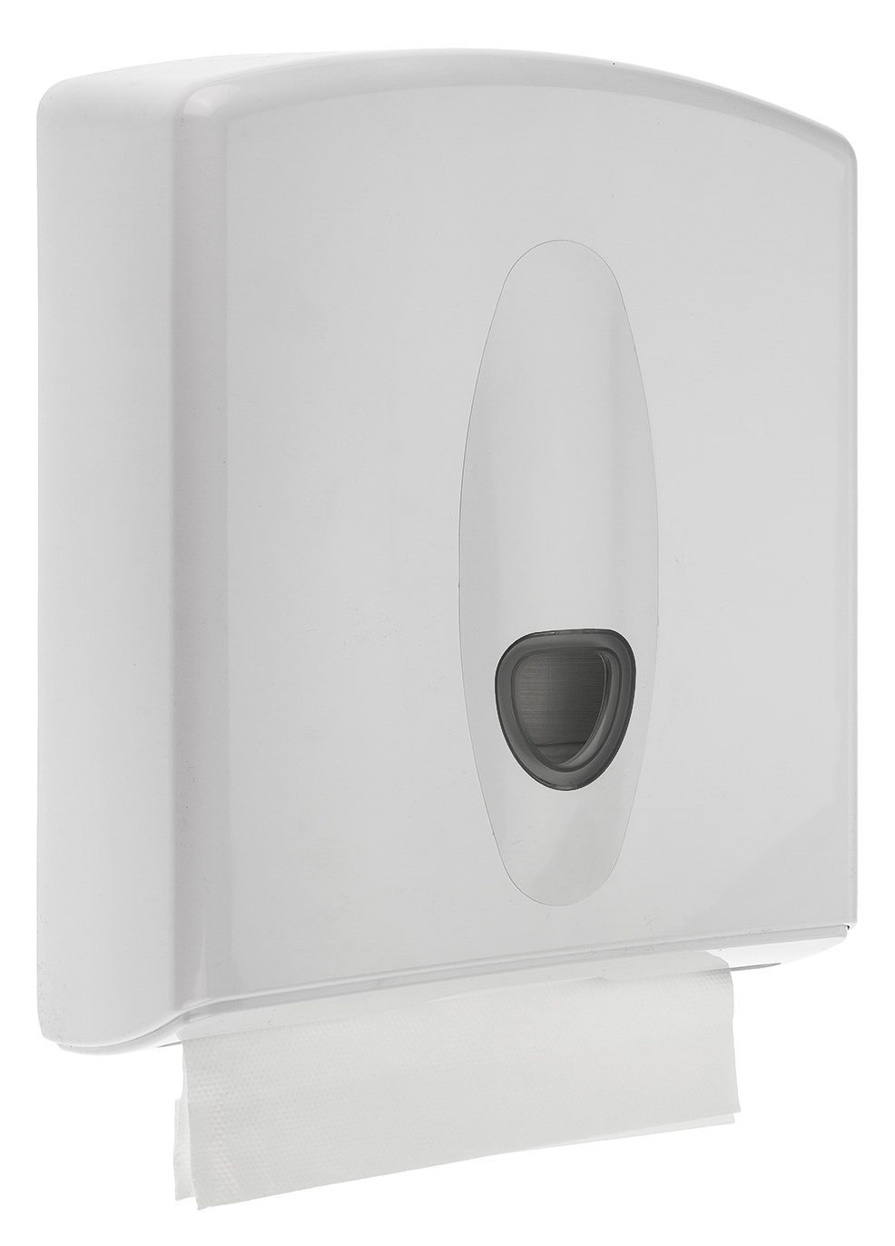 Euro Products | Pearl | Vouwhanddoekdispenser Z-vouw & interfold | Wit
