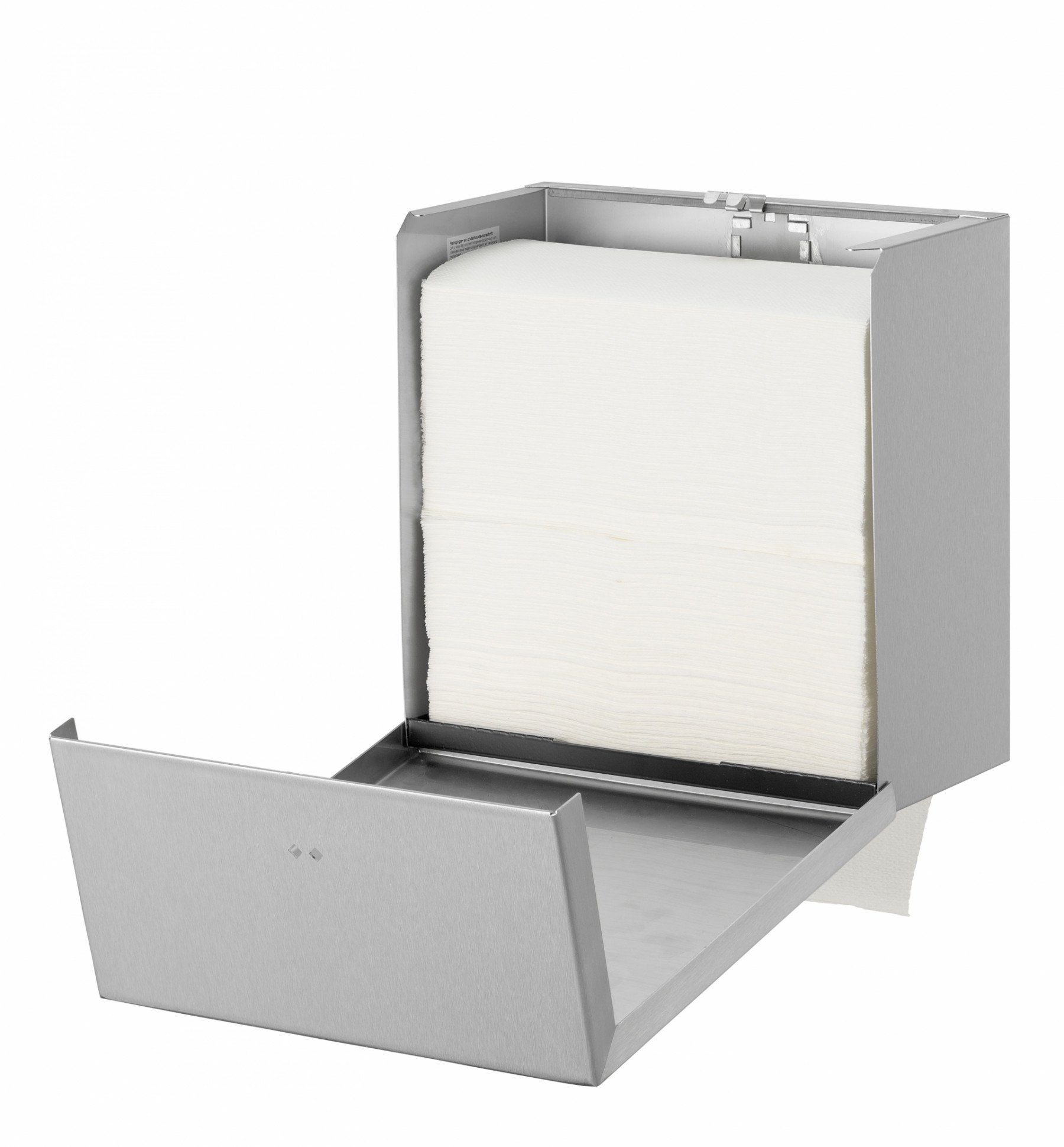 Qbicline | Handdoek dispenser | RVS