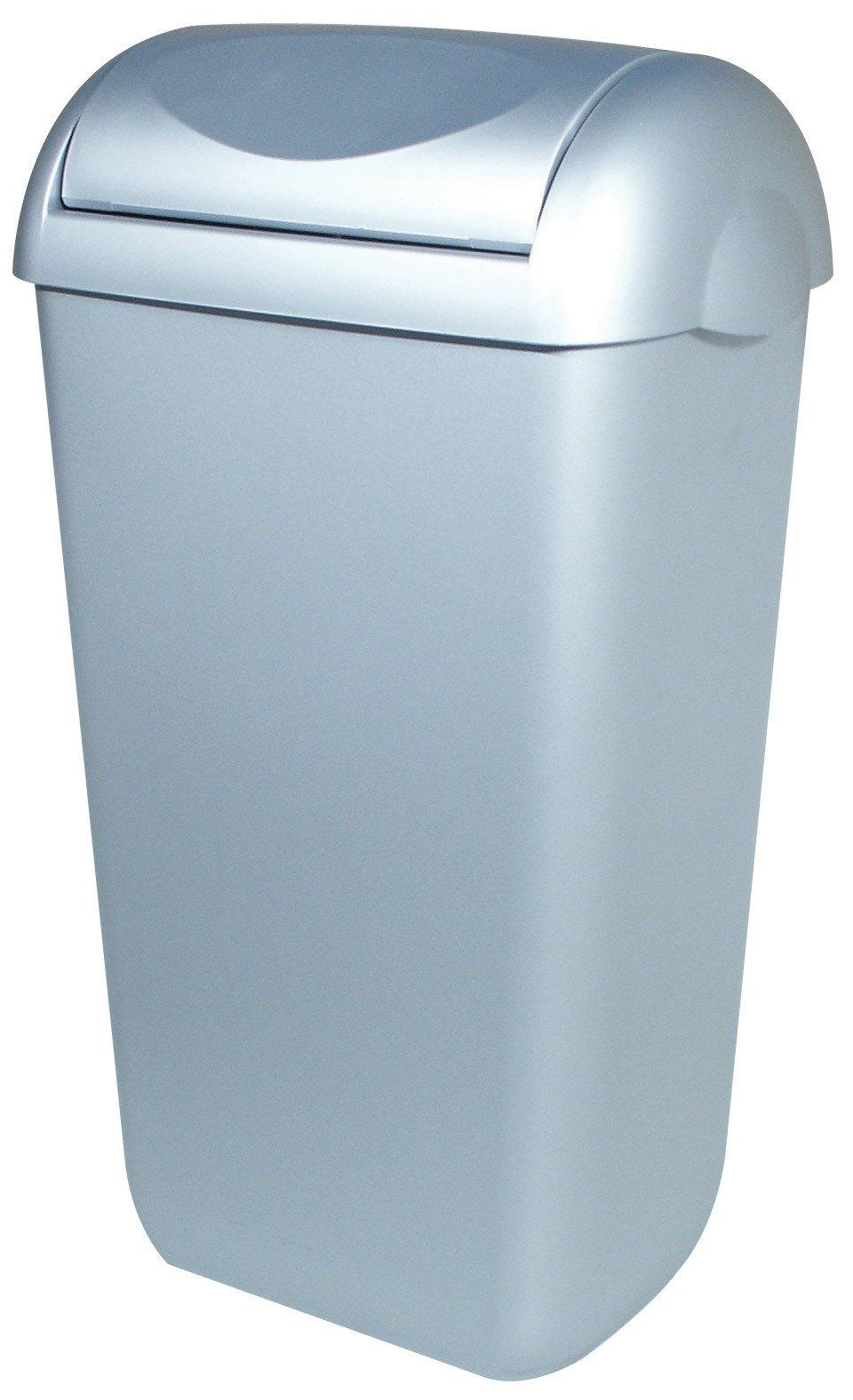 PlastiQline | Afvalbak | Swing deksel | Kunststof | Inhoud: 43 liter