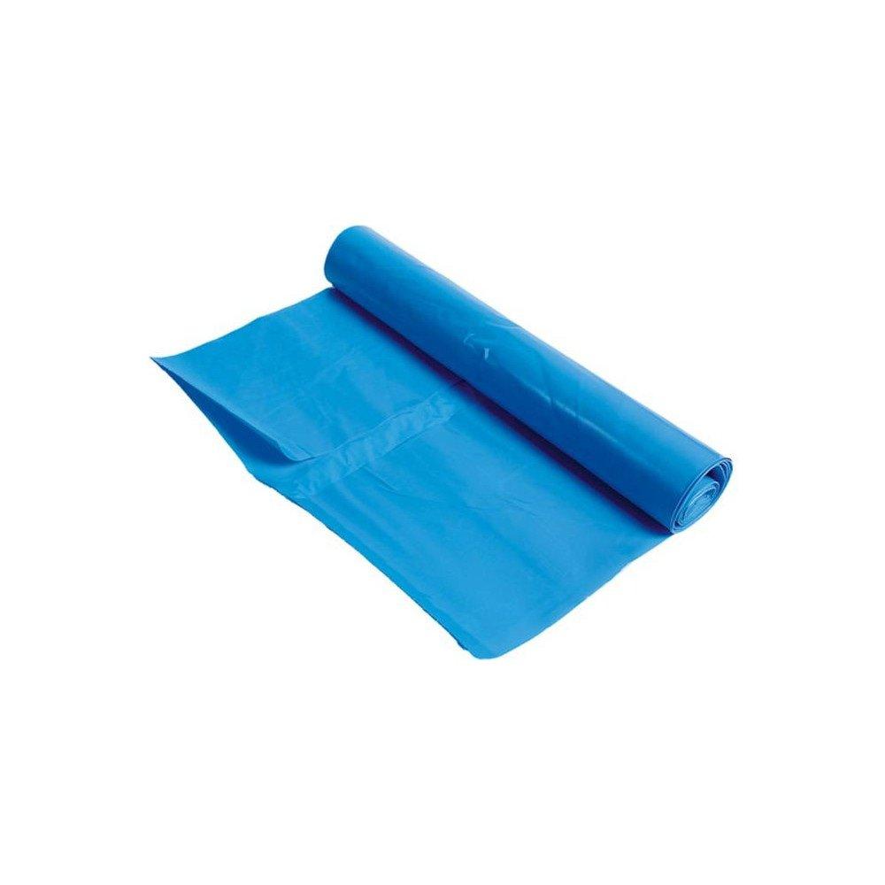 Afvalzak LDPE | 90 x 110 cm | Blauw | 100 stuks