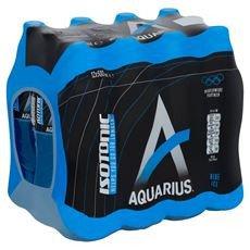 Aquarius Isotonic | Blue Ice | Petfles 12 x 500 ml