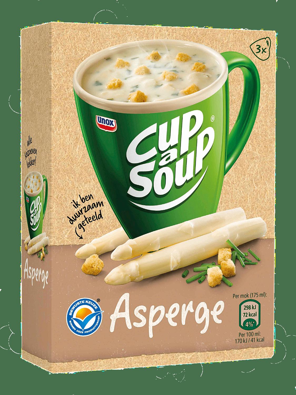 Unox | Cup-a-Soup | Asperge | Zakjes 21 x 175 ml