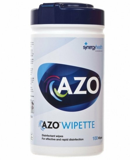 AZO Wipes | Desinfectie 77% alcoholdoekjes | 100 stuks | toelatingsnummer 14025 N