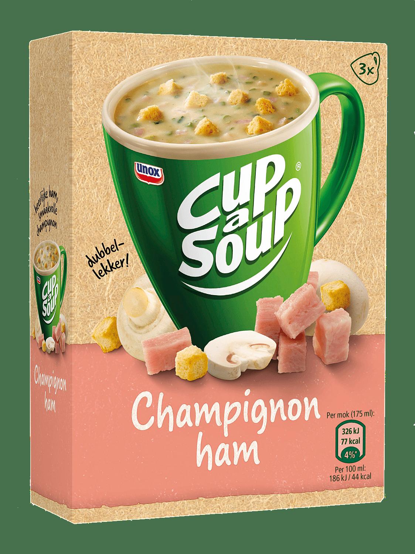 Unox Cup-a-Soup Champignon Ham 175 ml 21 zakjes