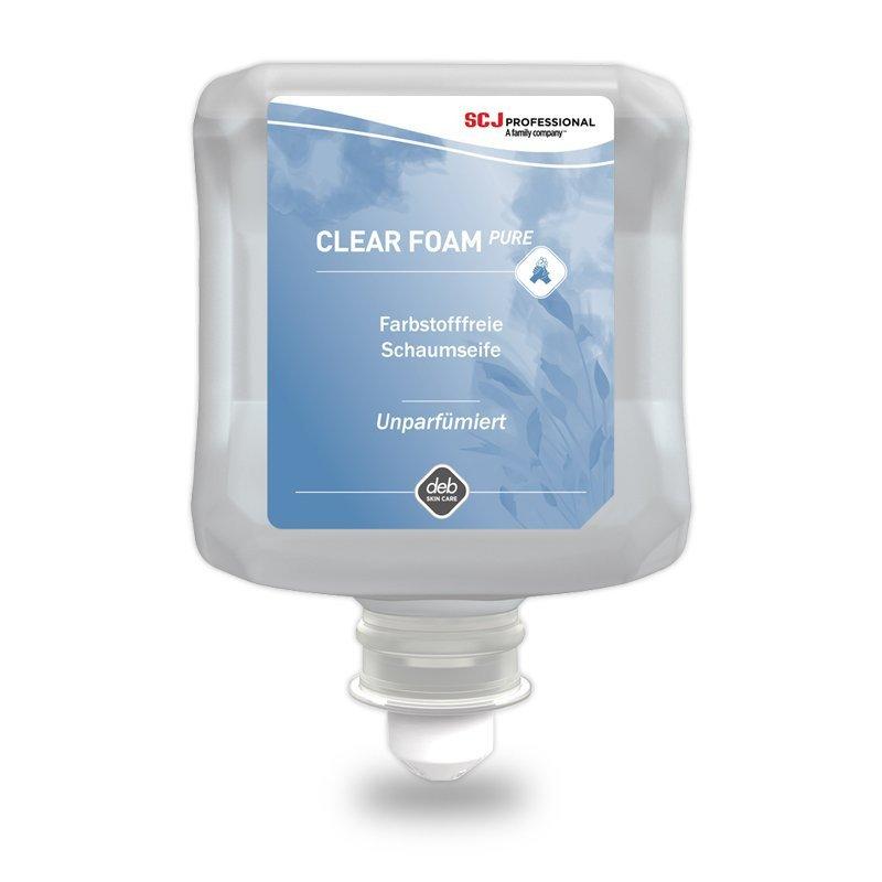 DEB | Foamzeep | Clear Foam Pure | 6 x 1 liter
