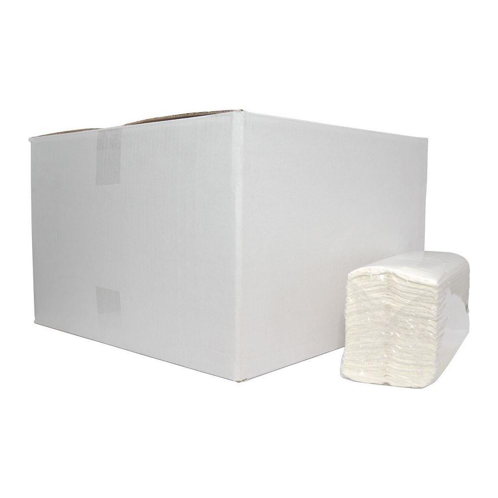 Euro Products Vouwhanddoekjes 2-laags C-vouw cellulose 31 x 25 cm 2432 stuks