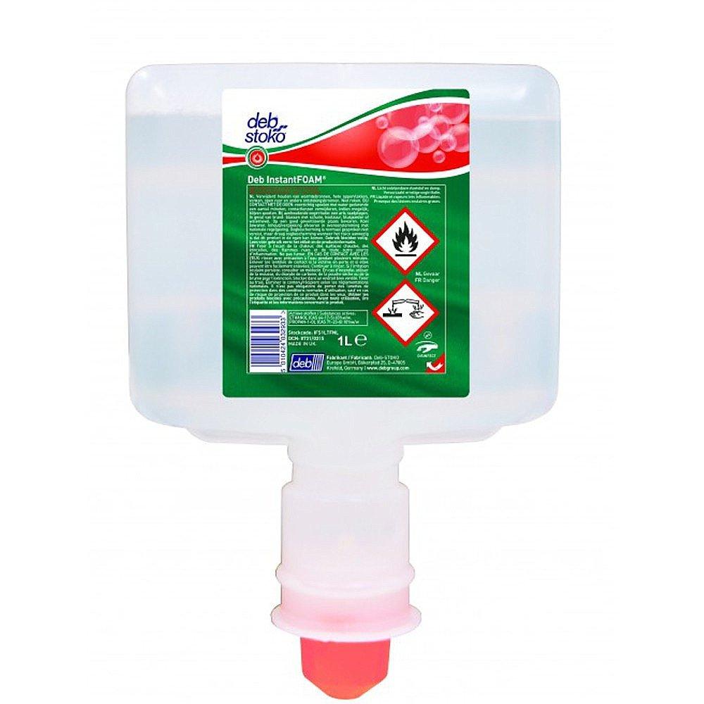 DEB Instant Foam desinfectiemiddel 3 x 1 liter voor Touch Free dispenser