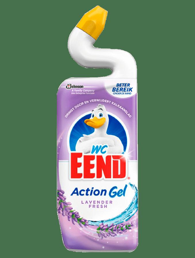 WC eend   Toiletreiniger   Lavender fresh   Fles 12 x 750 ml
