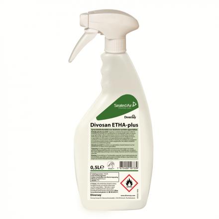 Diversey | Desinfectie spray | Divosan ETHA-plus 77% | 500 ml
