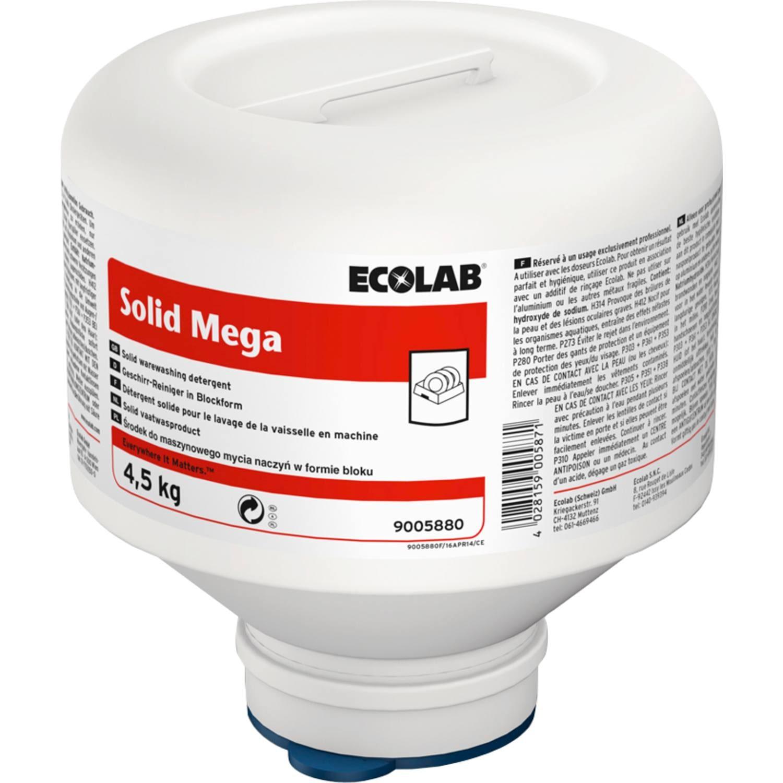 Ecolab | Solid Mega | 4 x 4,5 kg