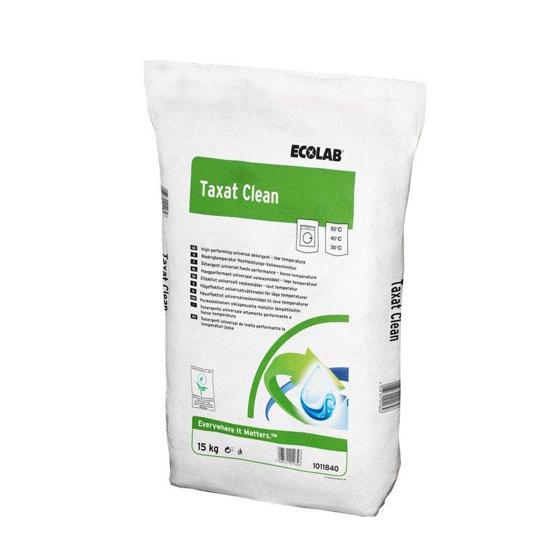 Ecolab | Taxat clean | Universeel waspoeder | Pak 15 kg