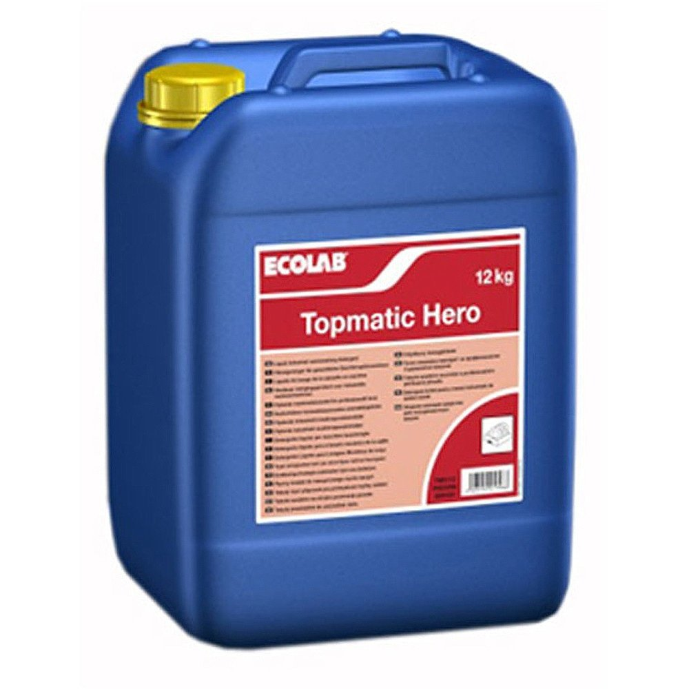 Ecolab | Topmatic Hero | Vloeibaar vaatwasmiddel | Jerrycan 12 kg