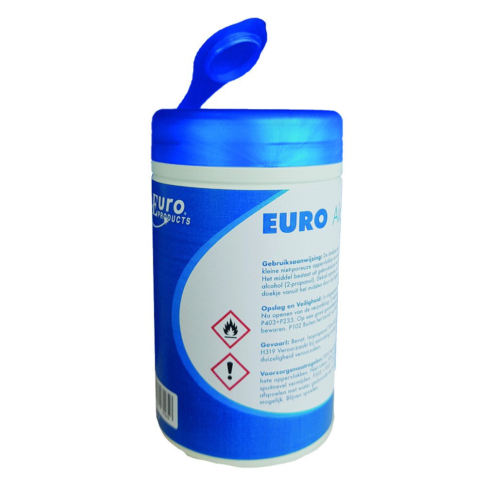 Euro Products | Alcohol Wipes | 150 Stuks