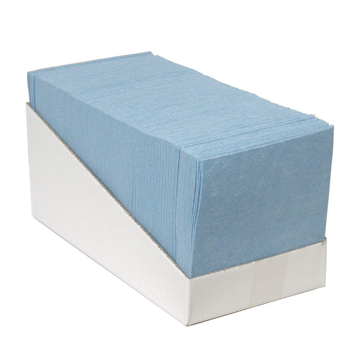Euro Products | Reinigingsdoek | Blauw | 38 x 40 cm | Doos 200 stuks