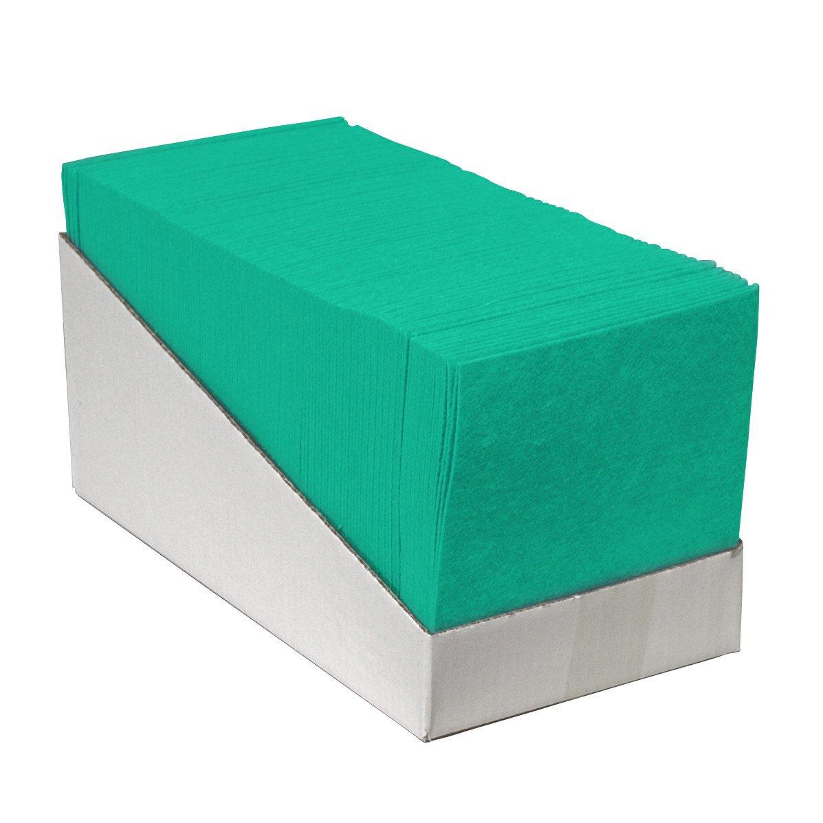 Euro Products | Reinigingsdoek | Groen | 38 x 40 cm | Doos 200 stuks