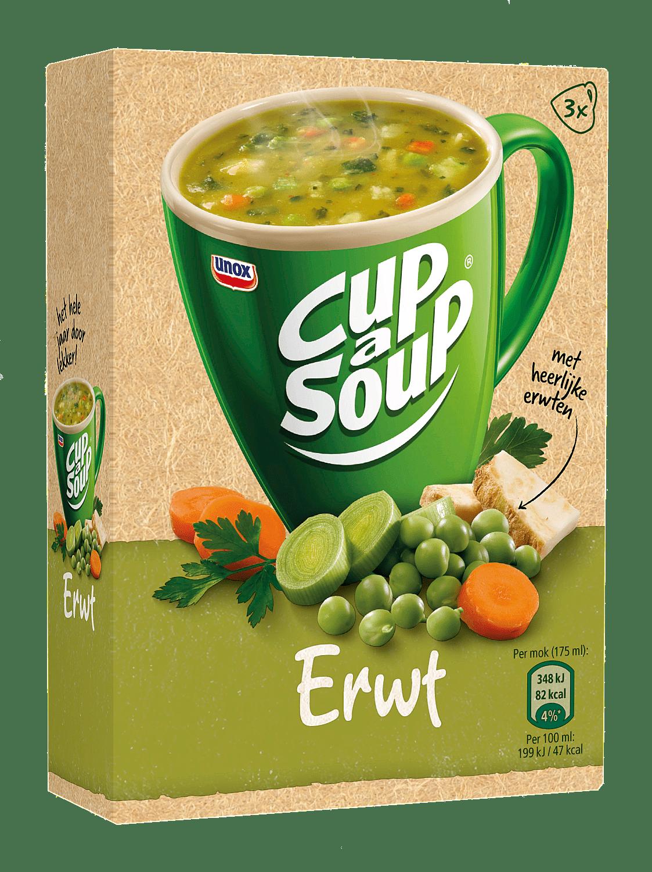 Unox Cup-a-Soup Erwt 175 ml 21 zakjes