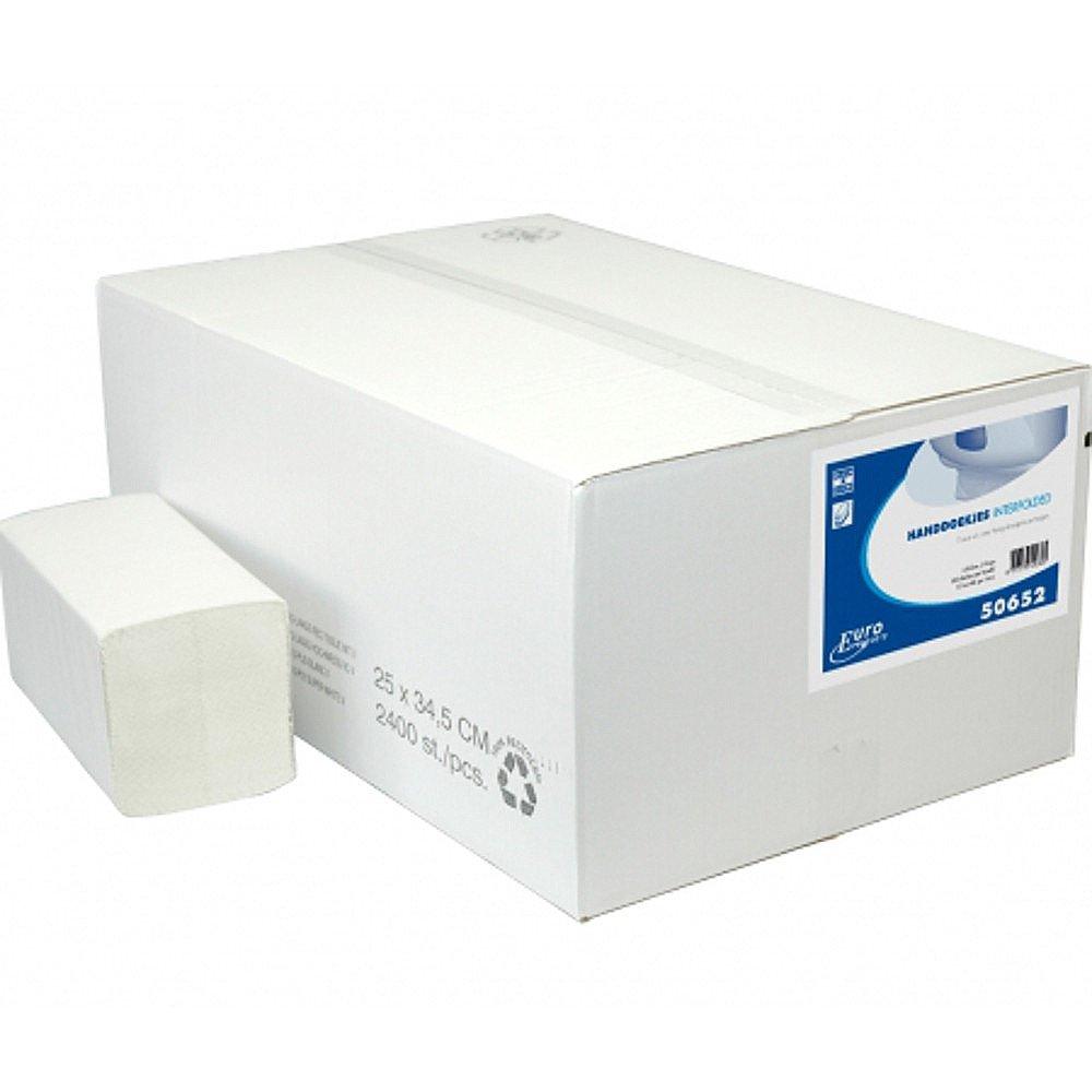 Euro Products Interfold Tissue wit 34,5 x 25 cm 2400 stuks