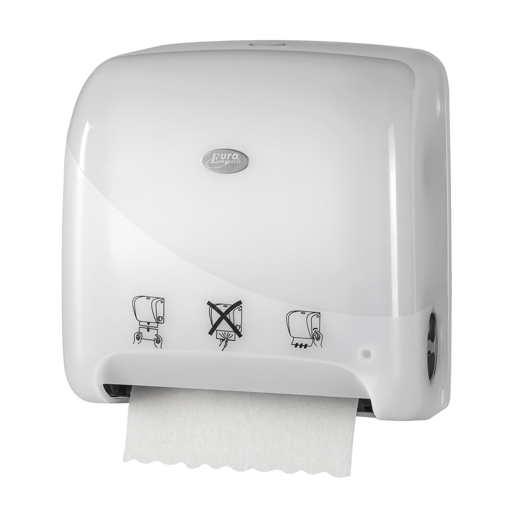 Euro Products | Pearl | Autocut Mini Matic XL | Handdoekrolautomaat | Wit