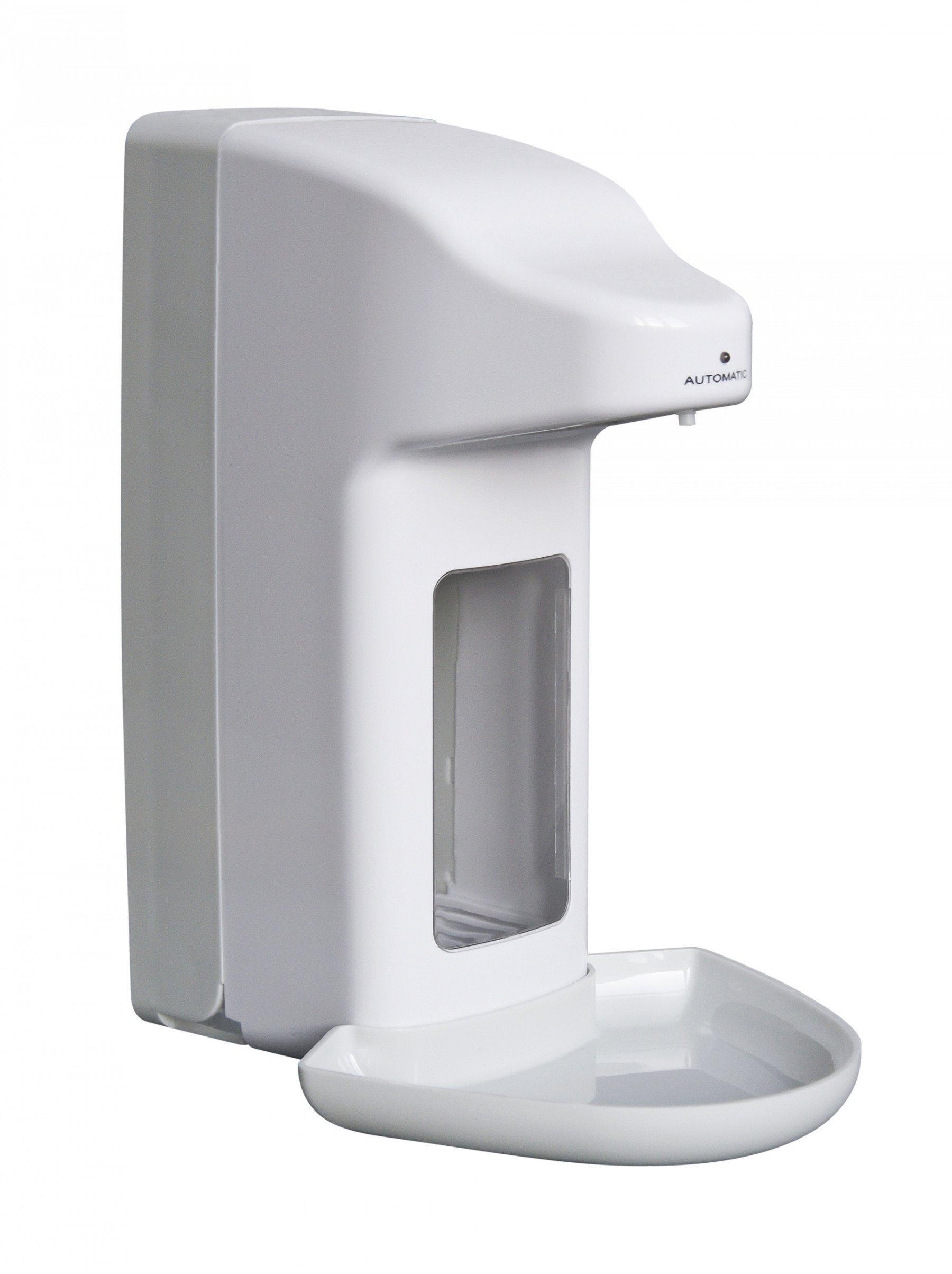 All Care Zeep & desinfectiemiddeldispenser No Touch 1000 ml + opvangschaal