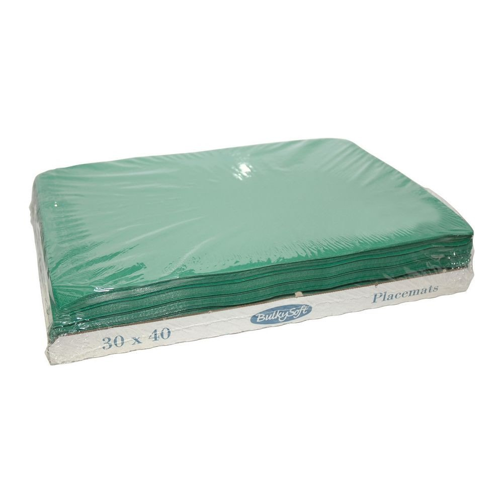 Bulkysoft Placemats groen 30x40cm 2000 stuks