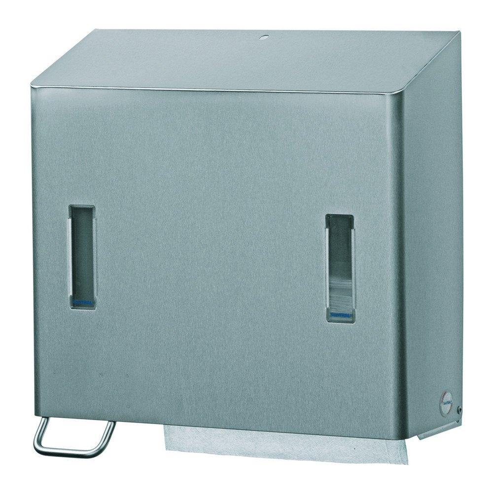Santral | Handdoek- & zeepdispenser | Links | 1200 ml | RVS