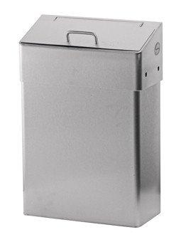 Santral | Hygiëne afvalbak | Gesloten klep | RVS | Inhoud: 18 liter