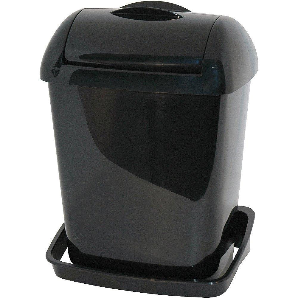 Euro Products | Mini Hygiënebak | Zwart | Inhoud: 8 liter