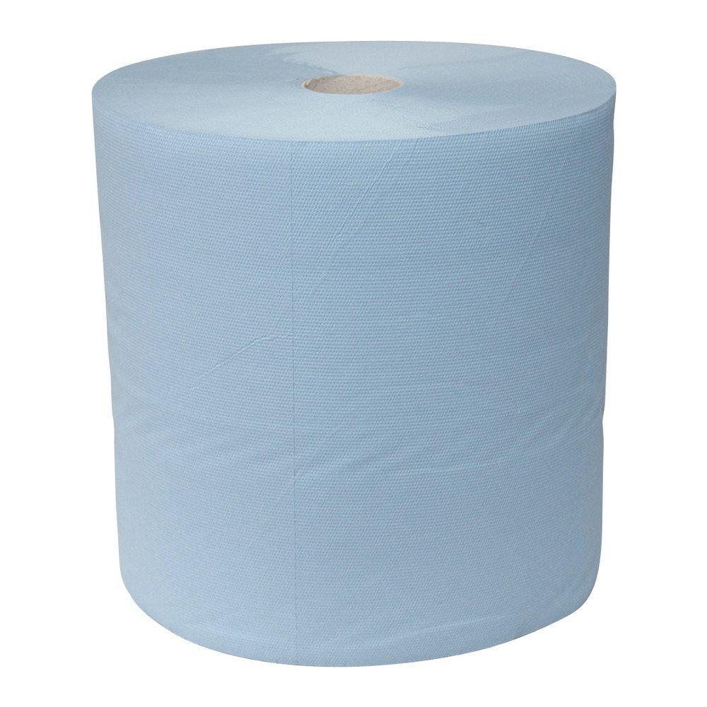 Euro Products | Industriepapier 3-laags | Blauw verlijmd | 380 meter