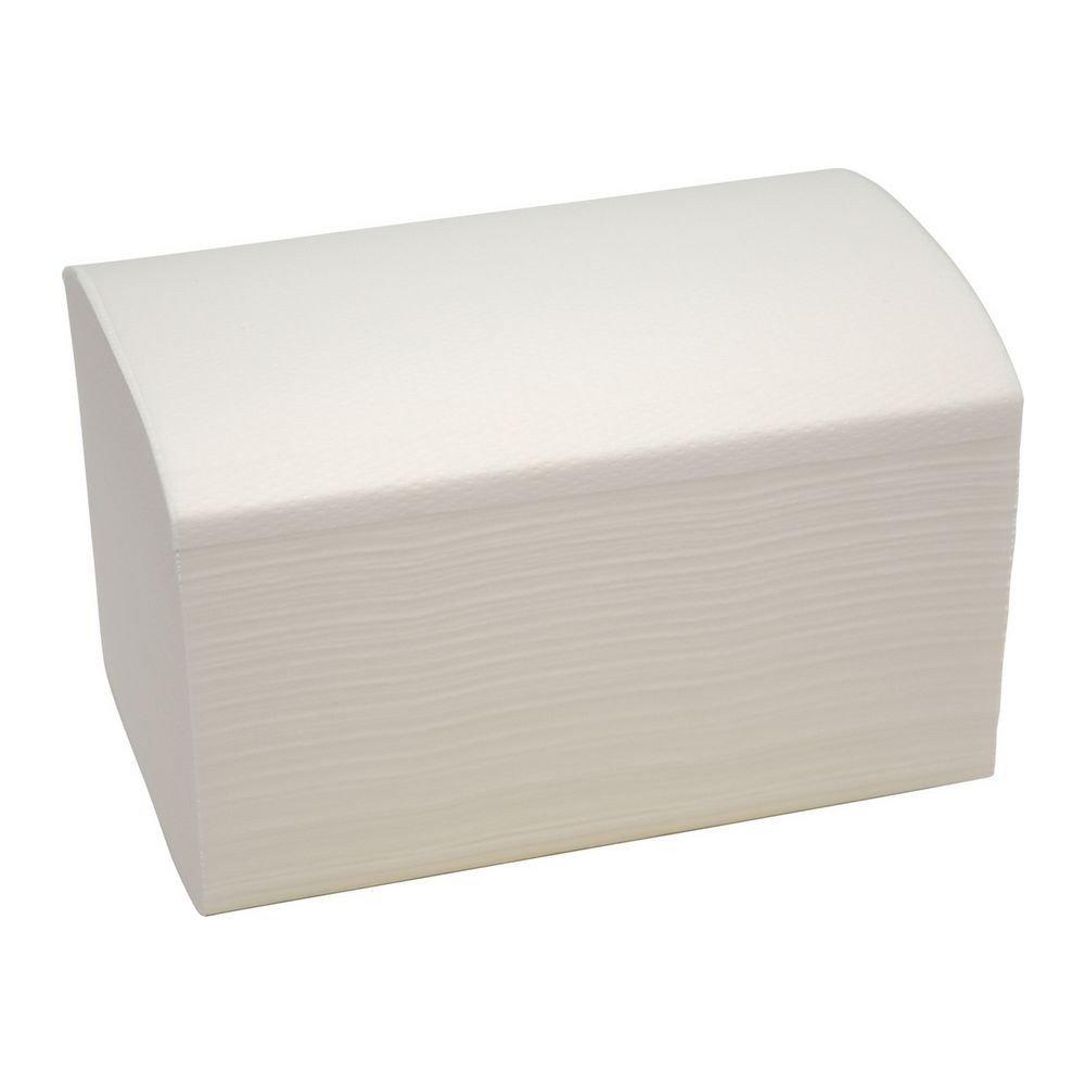 Bulkysoft Systeemservet klein 2-laags 1/2 vouw 19x14,5cm wit 4800 stuks